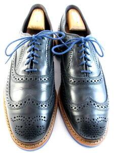 "NEW Allen Edmonds ""Strandmok"" Cap-Toe Oxfords 10 D  Black  Made in USA (561)"