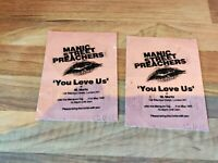 Manic Street Preachers Ultra Rare You Love Us at St Moritz 1991 Invitations