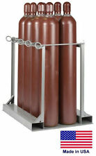 CYLINDER STAND PALLET for LP Propane Welding Gases Compressed Air - 8 Tank Cap