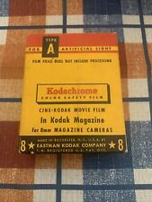 Vintage Kodachrome Cine-Kodak Movie Film. Unopened.