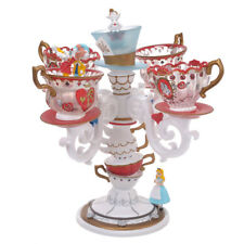 Disney Store ALICE TEA PARTY LED light Tea cup lamp figure illumination Ornament