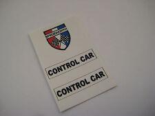 Corgi Rockets 926 Jaguar Pace Car Stickers - B2G1F