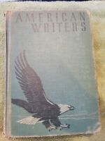 American Writers Revised Edition Published By Ginn And Company 1955