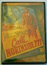 Call Northside 777 DVD. 1948 Fox Film Noir. James Stewart, Richard Conte.