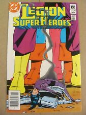 Legion of Super Heroes #305 Canadian Newsstand $0.75 Price Variant 9.2 NM-