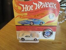 HOTWHEELS 2018 REDLINE CLUB WHITE CAMARO WITH TIN BADGE