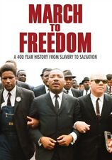 MARCH TO FREEDOM New DVD 14 Part Documentary Up from Slavery + Emancipation Road