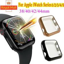Apple Watch Series 5 4 3 38 -44mm PC Hard Case Cover Screen Protector For Iwatch