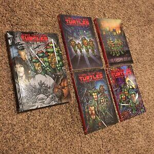 Teenage Mutant Ninja Turtles ultimate collection Vol 1-5 (Vol 1 HC 2-5 TPB) TMNT