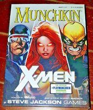 NIP Steve Jackson Games: MUNCHKIN X-MEN (128 + 4 Role Cards, Trackers, 1 Die)