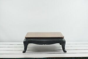 Salvage Table Antique Stove Wood Burner Repurposed  Industrial Table Plant Table