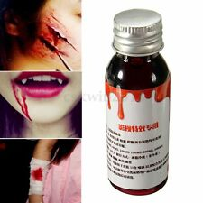 30ml Coagulated Gel Blood For Makeup Wounds Halloween Party Stage Special Effect