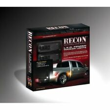 Recon 264137BK Smoked LED Dually Fender Lights For 2010-2016 Dodge Ram