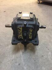"""4M D-LR 1:1 Ratio 7.22 HP 1750 RPM 3/4"""" Shafts Morse Reducer"""