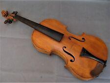 *2957* violon ancien de luthier mirecourt ?