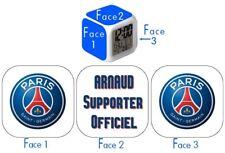 Réveil LED Supporter officiel PSG, personnalisé!