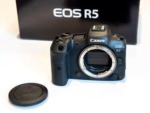 Canon EOS R5 - Schwarz Gehäuse body 45,0MP