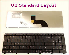 New Laptop US Keyboard For Acer Travelmate Timeline 8572G 8572T Black