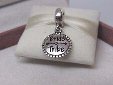 New w/Box Pandora Bride Tribe Charm ENG791169_31 Wedding Party Bridesmaid Honor