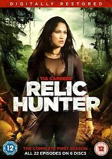 RELIC HUNTER Stagione 1 Serie Completa (1999) BOX 6 DVD in Inglese NEW .cp