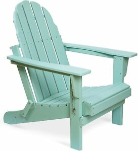 PILITO Adirondack Chair, Outdoor Folding Chairs, Patio Lounge Chair, Weather Res