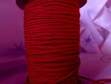 5 METERS RED SOUTACHE BRAID 3mm TRIM CORD NECKLACE JEWELLERY MAKING ST1280
