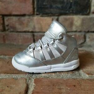 Nike Toddler Air Jordan Silver Max Aura SE Athletic Shoes Size 7Y AV5177-040
