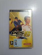 PES 6 Pro Evolution Soccer 6 Sony PSP pal España COMPLETO