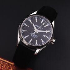 41mm Corgeut Black dial Sapphire Glass Date Miyota automatic movement mens Watch