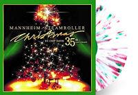 Mannheim Steamroller - Christmas Exclusive White w Red & Green Splatter Vinyl LP