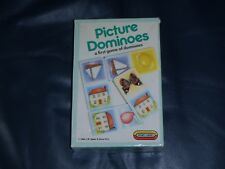 "Spears Retro ""PICTURE DOMINOES"" Childrens Vinatge Tile Game - 1980s Memorabilia"