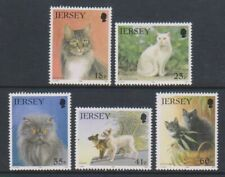 Jersey - 1994, Jersey Cat Club set - MNH - SG 650/4