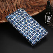 Bling Glitter Leather Case Magnetic Flip Wallet Cover For iPhone 5 6 7 8  Plus X