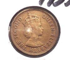CIRCULATED 1955 10 CENT HONG KONG COIN! (71115)