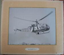 AVIATION - ALOUETTE II PHOTO OFFICIELLE ARMEE DE L'AIR