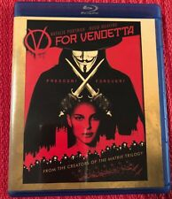 V FOR VENDETTA Blu-Ray