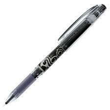 Pilot FriXion Point Erasable Rollerball Gel Pen, Black Ink, Needle- 0.5mm, 3/PK
