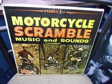The Scramblers Motorcycle Scramble Music and Sounds LP [Poor Condition Record]