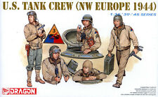 Dragon 1/35 6054 WWII US Tank Crew (NW Europe 1944) (5 Figures)