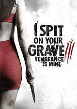 I Spit on Your Grave: Vengeance Is Mine (DVD, 2015) w/slipcover FREE SHIPPING!!!
