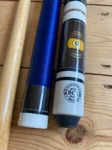"Rare BCE Custom Cues Billiards Snooker 9 Ball Stick 21oz-58""-Good Condition"