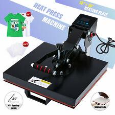 Clamshell Press T Shirt Heat Press Machine For Pillowcases More 15x15 Inch 1000w