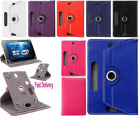 360° Rotating Leather Flip Case Cover For New Amazon Kindle Fire 7'' & HDX 7''