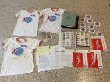 Vintage Chicago Sports Hustle Basketball HUGE LOT shirts Tickets Stock Ball Etc