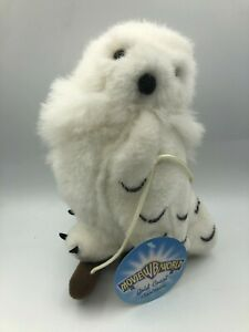 Harry Potter Movie World Hanging Hedwig White Owl Bird Plush Stuffed Toy Animal