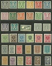 AUSTRIA - OESTERREICH lovely collection of CLASSIC MNH OG stamps