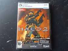 HALO 2 FPS SHOOTER PC DVD-ROM FAST POST ( brand new & sealed )