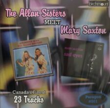 THE ALLAN SISTERS Meet MARY SAXTON - 23 Tracks