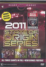 NRL - State Of Origin: 2011 - All 3 Games (3 DVD Set)