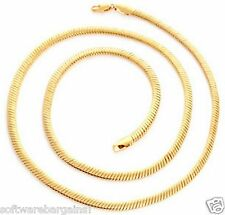 MEN'S OR LADY'S 18K GOLD FILLED  24 INCH CHAIN / NECKLACE. SHIPS FAST/SHIPS FREE